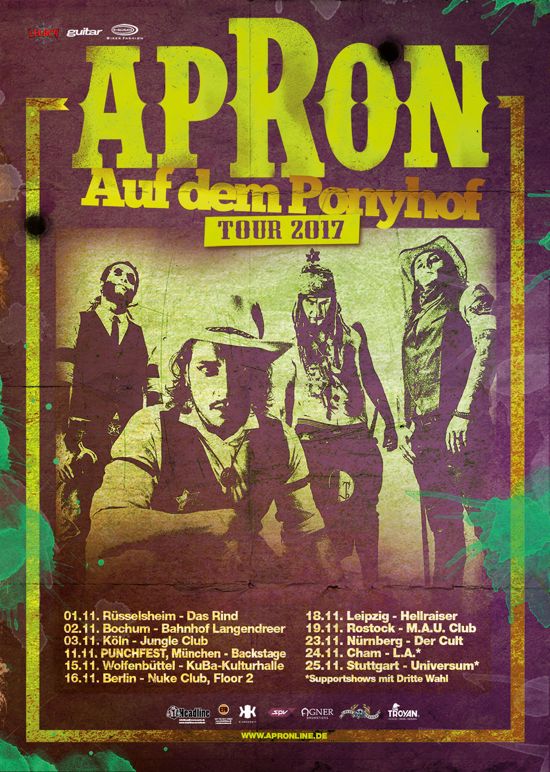 Apron, 03.11.2017, Jungle Club, Köln
