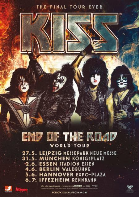 "Kiss – Abschiedstour ""End Of The Road"" 2019"