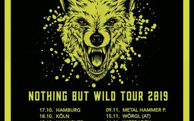 The New Roses – Nothing but wild Tour 2019